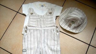 spodnie dla chłopca 0-3 m-ące