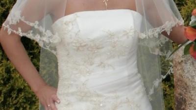 Sprzdam cudną suknię ślubną