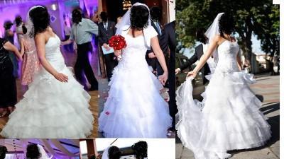 SPrzdam suknie ślubną : ELIZABETH KONIN model 2297T