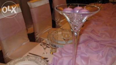 Sprzedam 2 kielichy Martini ok. 50 cm. wystrój.