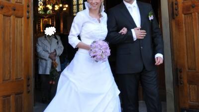 Sprzedam bajeczną  suknię ślubną