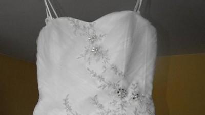 Sprzedam bajkową suknię ślubną z 300m tiulu. OKAZJA!