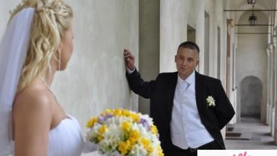 sprzedam białą kamizelke ślubną rozmiar 52