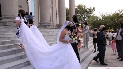 Sprzedam białą suknie rozmiar 12 DEMETRIOS 984