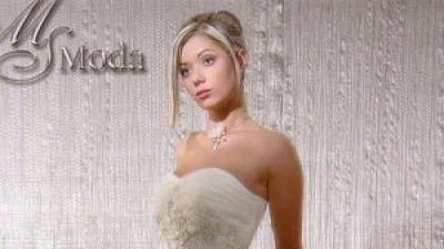 """Sprzedam biała suknie slubna""""cheryl"""" roz 38/40 + welon gratis"""