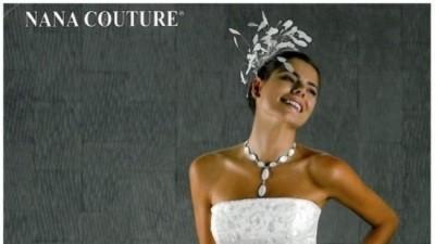 Sprzedam białą suknię ślubną francuskiej firmy nana couture rozm 44-48
