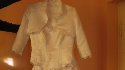 sprzedam białą suknię ślubną polecam!!!