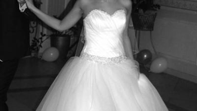 Sprzedam białą suknię ślubną princeska