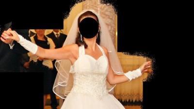Sprzedam białą suknię ślubną, rozm. 38-40