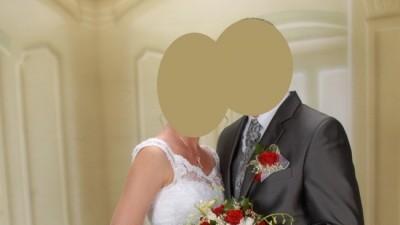 Sprzedam białą suknie ślubna - Rybnik