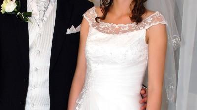 Sprzedam białą suknię ślubną, Tarnów