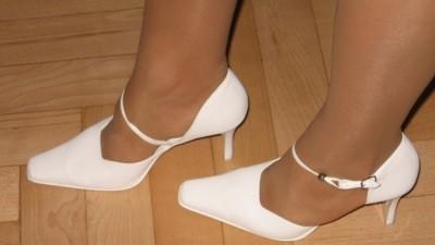 sprzedam białe buty do Ślubu