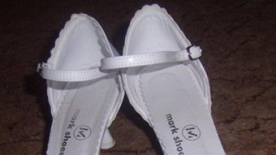 sprzedam białe buty ślubne białe