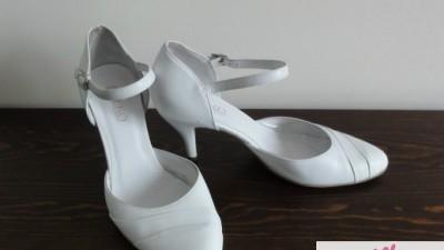 Sprzedam białe buty ślubne Ryłko rozmiar 37,5