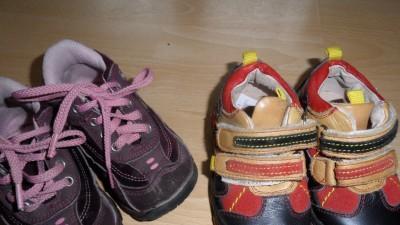 Sprzedam buciki dla chłopca i dziewczynki!