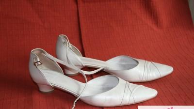 Sprzedam buty ślubne-rozmiar 41- Arte di Roma