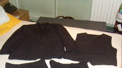 Sprzedam ciemnoszary garnitur firmy DASTAN Wzrost 176 Rozmiar 52