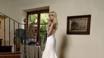 Sprzedam cudowną hiszpańską suknię ślubną rozm 34-36