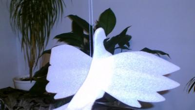 sprzedam dekorację sali weselnej - gołębie piankowe