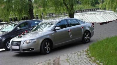 Sprzedam dekorację ślubną na samochód!