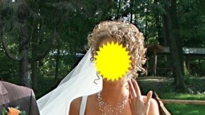 Sprzedam- dwuczęściowa suknia ślubna Margarett 2007!