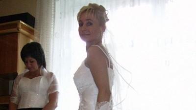 Sprzedam elegancką suknię ślubną!