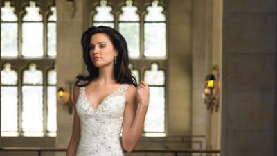 sprzedam elegancką suknię ślubną  Mon Cheri