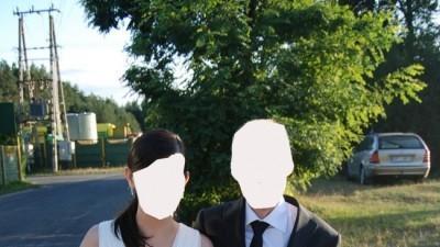 Sprzedam elegancką suknię ślubną projektu Evy Sass (muslin, Svarovski)