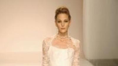 Sprzedam francuską suknię ślubną Cymbeline AMOUR z organzy i koronki
