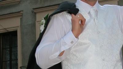 Sprzedam kamizelke ślubną