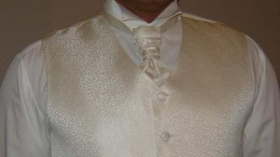 sprzedam kamizelkę ślubną z musznikiem firmy DIUK