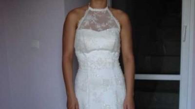 Sprzedam koronkową suknię ślubną