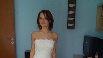 Sprzedam koronkową suknię ślubną  MADONNA