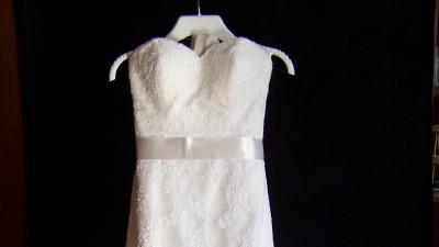 Sprzedam koronkową suknię Sweetheart model 5975
