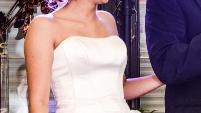 Sprzedam krótką suknię ślubną