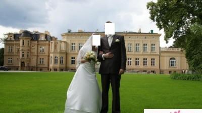 Sprzedam ładną suknię ślubną z salonu Agnes