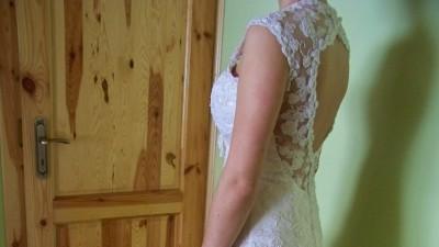 Sprzedam nieużywaną sukienkę ślubną