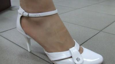 Sprzedam nowe białe buty ślubne skóra naturalna r 37,39 i 40