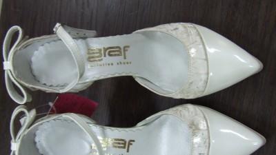 Sprzedam nowe piękne buty skórzane kolor ivory r 36-40