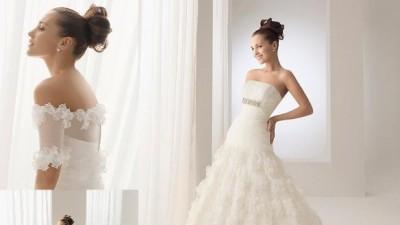 """Sprzedam oryginalna suknie """"Byron"""" marki Rosa Clara kolekcja Aire Brcelona 2010"""