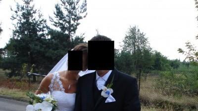 sprzedam oryginalną suknię ślubną