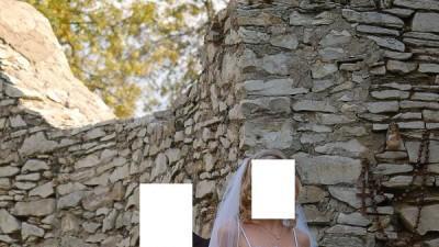 sprzedam oryginalną suknie ślubną