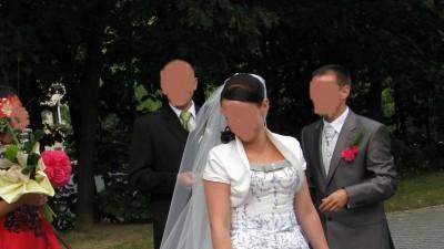Sprzedam oryginalną suknie ślubną z kolekcji Goldline ASPERA BRIDE 4366
