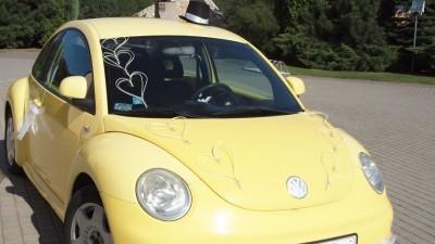 Sprzedam ozdoby na samochód ślubny