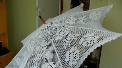 sprzedam parasolkę ślubną