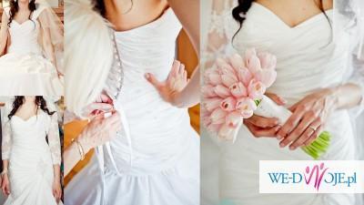 Sprzedam piękną i kobiecą suknię ślubną angielskiej firmy ELLIS Bridals