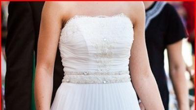 Sprzedam piękną oryginalną suknię ślubną