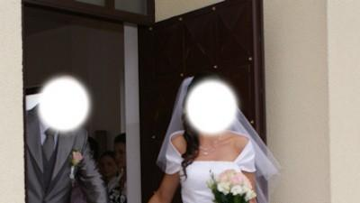 Sprzedam piękną śnieżno-białą suknię ślubną z kolekcji SINCERITY model 3159
