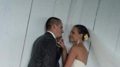Sprzedam piękną sukienkę ślubną:)))