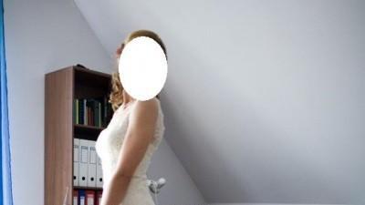 Sprzedam piękną suknię Basera marki San Patrick z grupy Pronovias